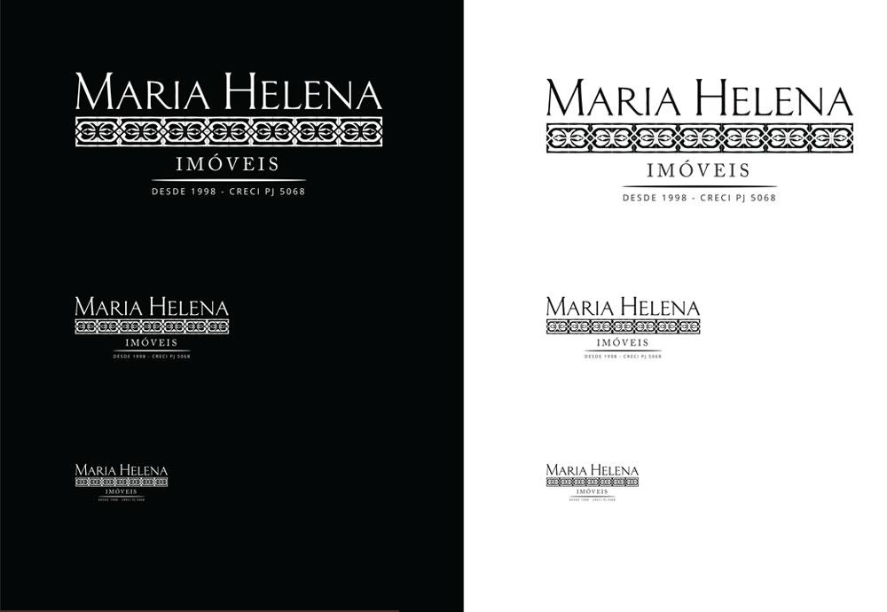 Maria Helena Imóveis – Logomarca