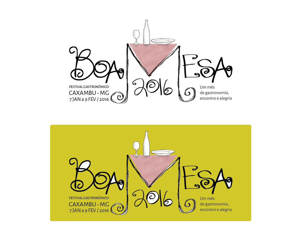 Logomarca Festival Boa Mesa