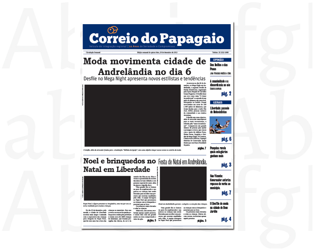 Jornal Correio do Papagaio