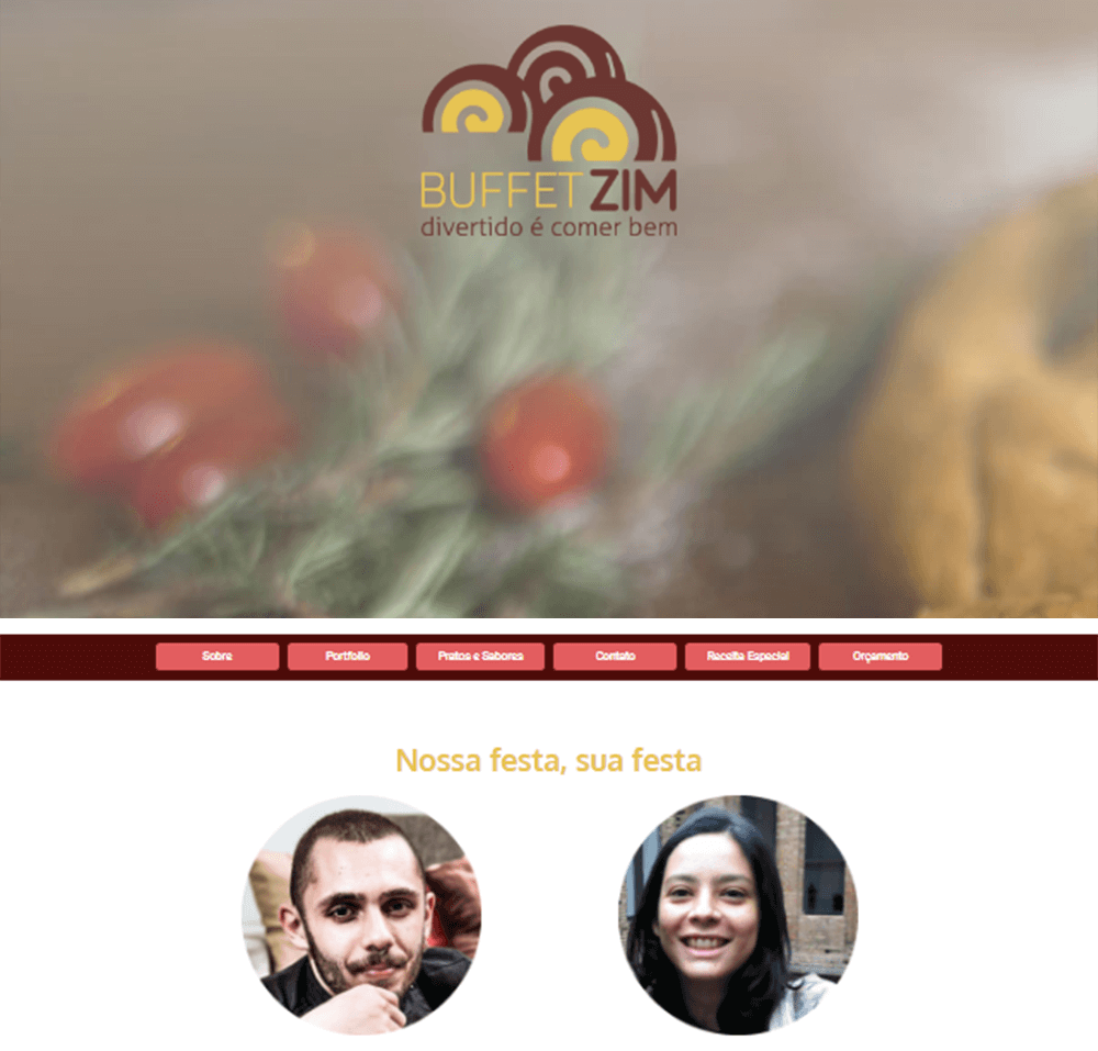 Website Buffet Zim