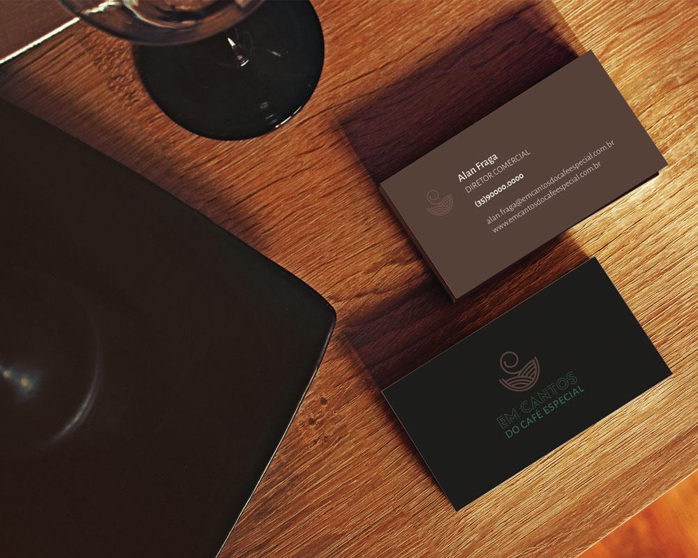 Em Cantos do Café Especial – Logomarca